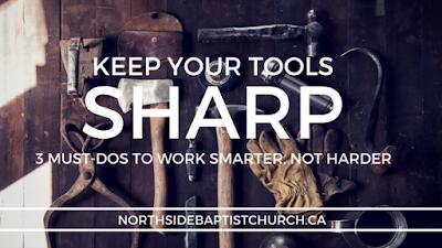 keep tools sharp